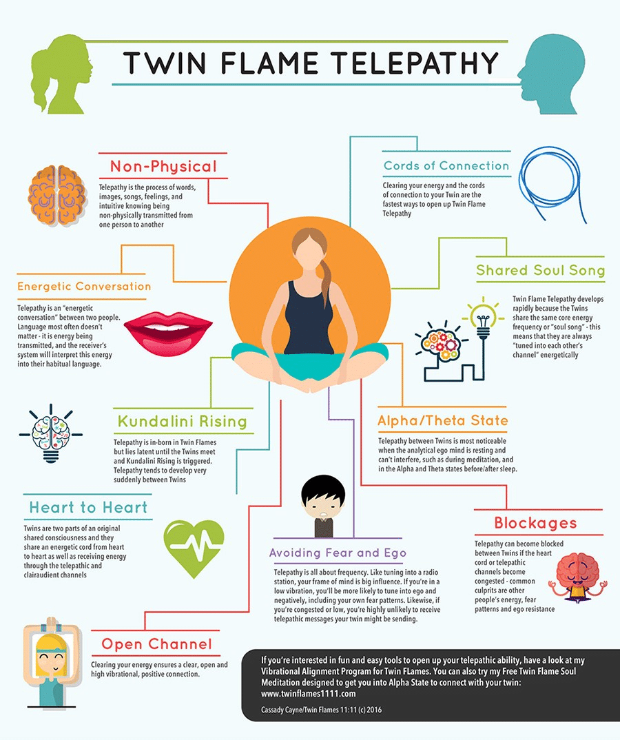 complete twin flame telepathy