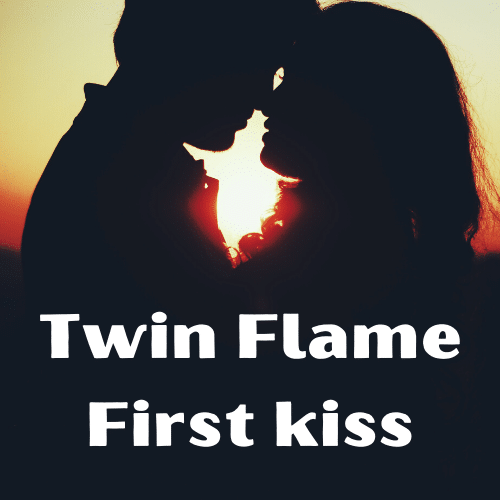 twin flame first kiss